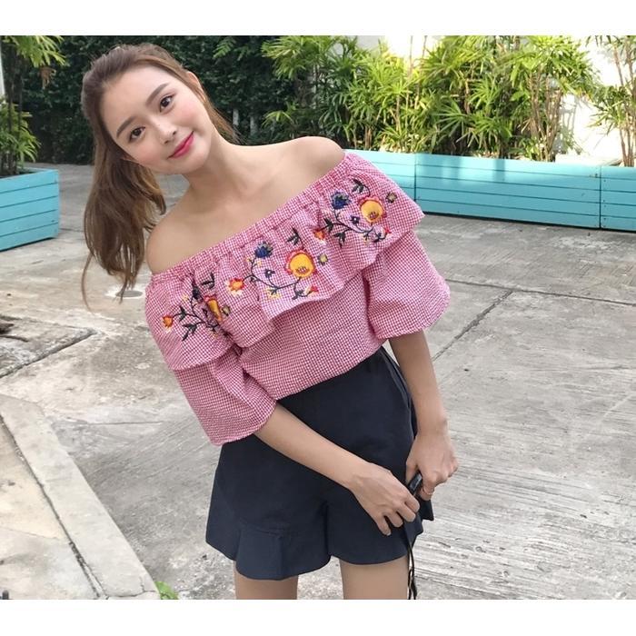 Style Fashion Korea Sabrina
